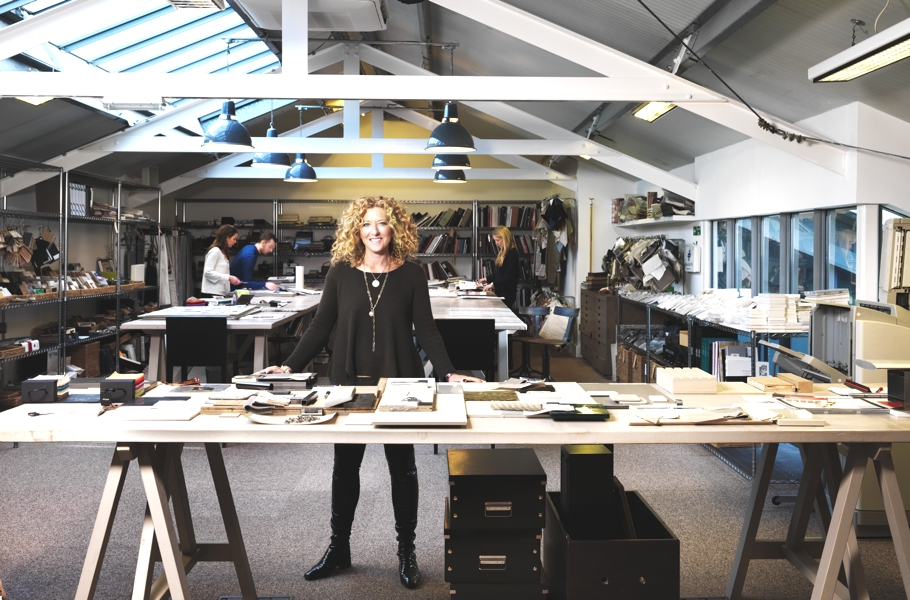 london s kelly hoppen on interior design designing a creative space